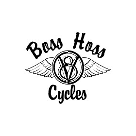 Boss Hoss Logo On MotorcycleOnlineSales.Com